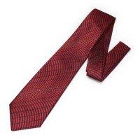 全3色・三丁紋柄・レッドの西陣織ネクタイ
