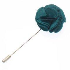 フラワー・お花で華やか・グリーンのラペルピン