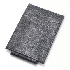 黒革カードケース&マネークリップ