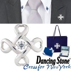 Crossforクロスフォー Crossfor logo4 ラペルピン ブローチ NY-T001