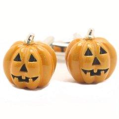 Halloween かぼちゃ カフス カフリンクス カフスボタン