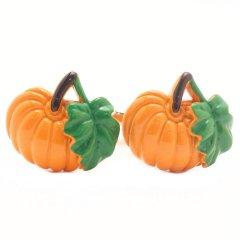 パンプキン かぼちゃ カフス カフリンクス カフスボタン