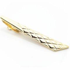 ゴールド&ダイヤ柄のタイピン(ネクタイピン)