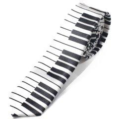 ピアノ 鍵盤 音楽 ナロータイ ネクタイ