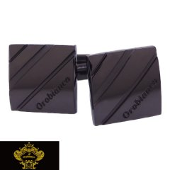 Orobianco オロビアンコ カフス カフスボタン ガンメタリック ORC149B ブランド