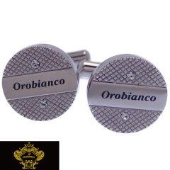 Orobianco オロビアンコ カフス カフスボタン クリア スワロフスキー ORC209A ブランド