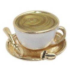 カフェ コーヒー ラペルブローチ ラペルピン