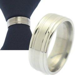 名入れ刻印サービス対象 ネクタイリング シルバー シンプル タイリング
