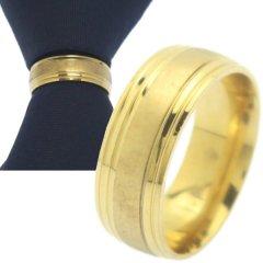 名入れ刻印サービス対象 ネクタイリング ゴールド センターシャイン タイリング