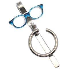 SWANK 眼鏡 ブルー Eye Wear Show メガネホルダー 眼鏡ホルダー グラスホルダー