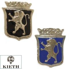 ラペルピン 日本製 ライオン KIETH ブランド 全2色 ブラック ブルー ピンブローチ タイタック