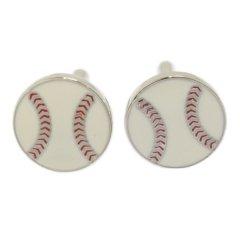 野球 ベースボール カフス カフリンクス カフスボタン