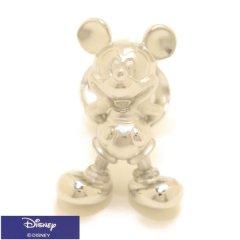 ミッキー 全身 ミッキーマウス シルバー タイタック ラペルピン ブローチ ピンブローチ タイニーピン Disney ディズニー