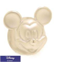 ミッキー フェイス ミッキーマウス シルバー タイタック ラペルピン ブローチ ピンブローチ タイニーピン Disney ディズニー