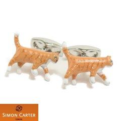 サイモンカーター 猫 ネコ ねこ カフス カフリンクス カフスボタン