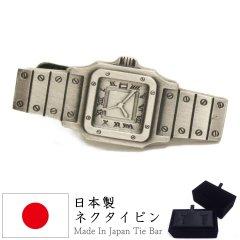 腕時計  時計 とけい 面白 おもしろ オモシロ ユニーク アンティーク調 タイピン ネクタイピン