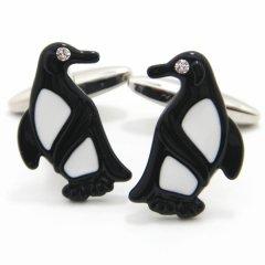 キラリEyes☆ペンギンのカフス(カフリンクス/カフスボタン)