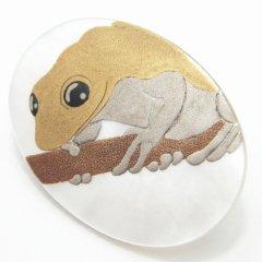 金蛙・白蝶貝・タイタック(ピンブローチ)