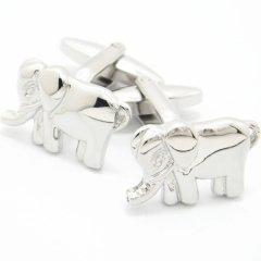 象モチーフのカフス(カフリンクス/カフスボタン)