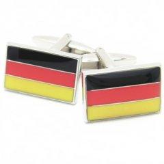 Guten・tagドイツ国旗のカフス(カフリンクス/カフスボタン)
