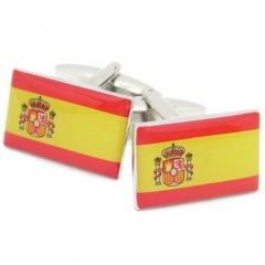 Buenas・tardesスペイン国旗のカフス(カフリンクス/カフスボタン)