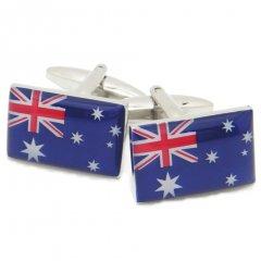 Good・dayオーストラリア国旗のカフス(カフリンクス/カフスボタン)