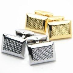 全2色・Diamanteダイヤ柄が輝くカフス(カフリンクス/カフスボタン)