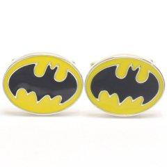 着けたら心もヒーロー?!バットマンマークのカフス(カフリンクス/カフスボタン)