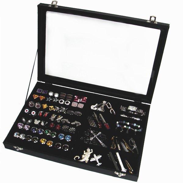カフスボタンもネクタイピンもメンズアクセサリー収納ケース・コレクションボックス