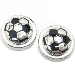 ボタンカバー◆サッカーボールのボタンカバー