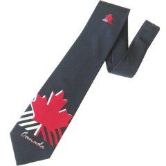 面白ネクタイ・カナダ・メープル・マークのユニークネクタイ