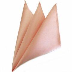 日本製シルク100%・光沢感の美しいポケットチーフ・サテン・サクラ・ポケットスクウェア