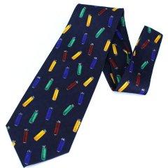 面白ネクタイ・カラフルライターがいっぱいのユニークネクタイ