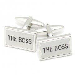 THE・BOSS上司・親分・師匠へおススメのメッセージカフス(カフリンクス/カフスボタン)