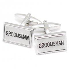 GROOMSMAN結婚式の付添人の記念におススメのカフス(カフリンクス/カフスボタン)