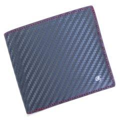 【DonGiovanniドン・ジョバンニ】ウォレット(二つ折り財布/札入れ)・ブラック×レッド