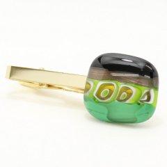 ムラーノ・ベネチアンガラス・1点物67タイピン(ネクタイピン)