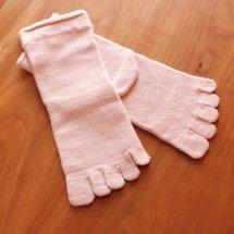 絹木綿パワーアシスト・Mサイズ(22〜24cm、1枚目用)