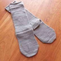 絹木綿先丸ソックス・Lサイズ(24〜27cm、2枚目用)