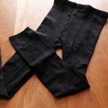 絹スパッツ厚地タイプ(黒)