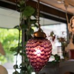 <img class='new_mark_img1' src='https://img.shop-pro.jp/img/new/icons29.gif' style='border:none;display:inline;margin:0px;padding:0px;width:auto;' />Pendant Lamp グレープ purple