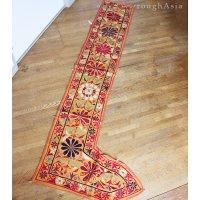 インドの刺繍古布タペストリー トーラン - D