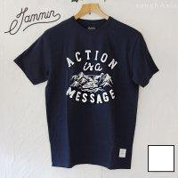チャリティーTシャツ JAMMIN - ACTION 2色/ユニセックスSMLサイズ