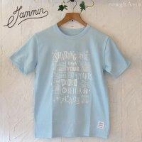 チャリティーTシャツ JAMMIN - sharing SMILE/ユニセックスSMLサイズ