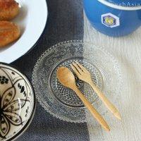 タイ/木製ミニスプーン/フォーク