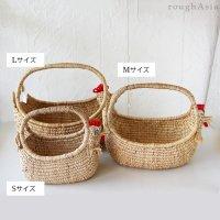タイ・ニワトリのハンドルバスケット  S,M,Lサイズ