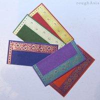 インド チマンラール/封筒5枚入−ライン /ご祝儀袋
