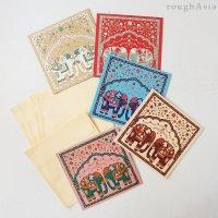 インド チマンラール/封筒付きメッセージカード5枚入