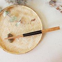 タイ 天然木で作られた持ちやすいお箸
