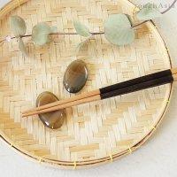 ベトナム 水牛の角(バッファローホーン)箸置き